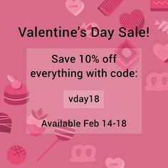 Save 10% off everything for #ValentinesDay from Feb 14th-18th! Just to show how much we love you we're giving you guys 10% off everything starting today through the whole weekend! Have a lovely day Wish fam!  #TrueLove #BeMine #ValentinesSale #LovetoShop