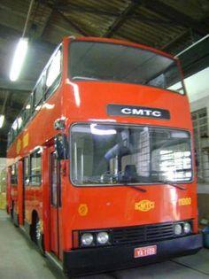 É da sua época?: [1980] Ônibus CMTC de 2 Andares
