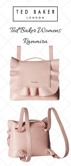 Ted Baker Women's Rammira Light Pink One Size. #womwn #women'sfashuin #women'sbags #stylish #tedbaker #bag #bags #lightpink #pink #handbag #shoulderbag #backpack Backpack Purse, Purse Wallet, Summer Purses, Work Bags, Cosmetic Pouch, Branded Bags, Quilted Bag, Leather Pouch, Types Of Purses