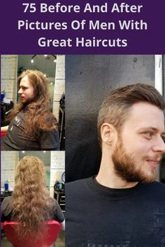 It's amazing how much of a difference a good haircut can make. These 75 guys were getting a little shaggy, but then they went in to see the barber and their looks were completely transformed. They went from unkept looking bums to studs with just a few careful clips of the scissors.