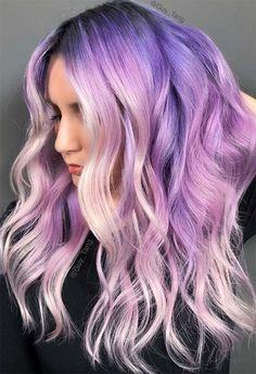 Lavender Hair Color Shades 2020 55 Dreamy Lilac Hair Color Ideas Lilac Hair Dye Tips Glowsly Of 96 Best Lavender Hair Color Shades 2020 Hair Color Shades, Hair Color Purple, Hair Dye Colors, Cool Hair Color, Purple Tips, Lilac Color, Lilac Hair Dye, Lavender Hair Colors, Dye My Hair