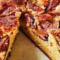 Fig & Ricotta Cake Fresh Fig & Ricotta Cake - Barefoot Contessa - Ina Garten says its the easiest cake to make!Fresh Fig & Ricotta Cake - Barefoot Contessa - Ina Garten says its the easiest cake to make! Fig Recipes, Baking Recipes, Sweet Recipes, Cake Recipes, Dessert Recipes, Food Cakes, Köstliche Desserts, Delicious Desserts, Desert Recipes