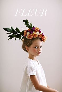 ✕ Beautiful, just beautiful… / fleur by chaunté vaughn / #photography #styling #children #flowers