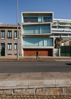 Cantareira Building by Eduardo Souto de Moura | Porto, Portugal