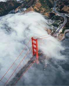 Golden Gate Bridge by @missladyc #sanfrancisco #sf #bayarea #alwayssf #goldengatebridge #goldengate #alcatraz #california