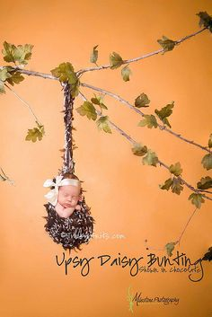 Never hang a baby from a tree (rock-a-bye baby ring a bell? doesn't end well)