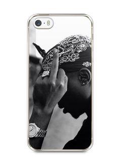 Capa Iphone 5/S Tupac Shakur #2 - SmartCases - Acessórios para celulares e tablets :)