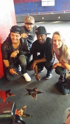 """Avant-première """"Les nouvelles aventures d'Aladin"""" à Kinepolis Lomme le 01/09/2015 en présence de Kev Adams - Black M - Audrey Lamy et William Lebghil"""