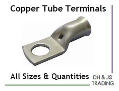 Copper Tube Terminals All Sizes Terminal Battery Welding Cable Lug Ring Crimp