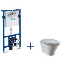 Zestaw podtynkowy Duplo + miska WC podwieszana Nexo Rimless | Nexo | Serie łazienkowe | Kolekcje | Roca