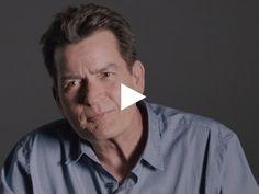 """Charlie Sheen: Die Gänsehautbotschaft des """"Two And A Half Men""""-Stars für eine Kondommarke"""
