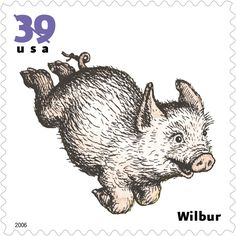 """Illustrator Garth Williams gave form to the endearing character of Wilbur, the pig who is befriended by a spider in """"Charlotte's Web"""" (1952), E.B. White's classic book about loyalty, bravery, and compassion."""
