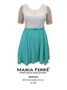 VESTIDO TALLA EXTRA, PLUS SIZE DRESS. MARÍA FERRÉ.