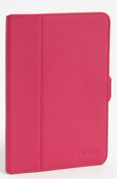 Speck 'FitFolio' iPad mini Case available at #Nordstrom come is green/black/pink  Perfect for mini iPad, returned the apple store one with magnetic strip that the ipad kept falling off of. I had the manager at apple ask me where I got the this one b/c she like it too!