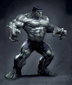 Great hulk art