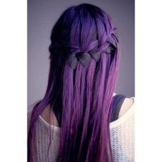 Hair Color# Purple# Hairstyle#