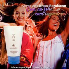 Curta o final de semana e dance até o amanhecer com segurança e bem estar garantidos! O Creme Desodorante Regulateur possui ação antitranspirante eficaz , garantindo a diversão da noite inteira sem se preocupar!   #desodorante #desodorantefeminino #racco #raccocosmeticos #raccopituba #raccosalvador