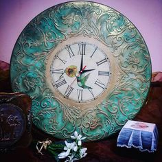 Золотые ручки, ДЕКУПАЖ. МОСКВА. Товары для декуп Clock Craft, Father Time, Cricut Craft Room, Mosaic Madness, Decoupage Vintage, Sculpture Painting, Altered Art, Vintage Furniture, Wood Projects