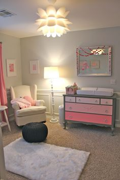 What a beautiful light! Just Add Sugar: Finished Nursery!