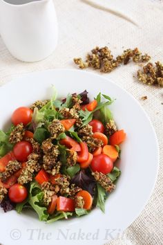 I love crunchy!!!  Can't wait to try this. Sprouted Almond and Zucchini Croutons