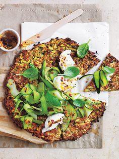 Zucchini And Mozzarella Pizza | Donna Hay