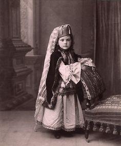 Princess Lazareva in Tatar costume.