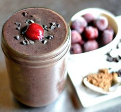 Chocolate-Covered Cherry Smoothie