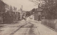 The pub on right was the local for the Macrae family