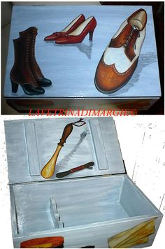Box for shoe shine