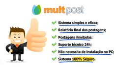 MultPost - Sistema Online de Agendamento de Postagens