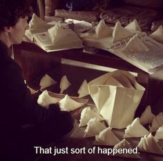 """""""Sherlock's wedding preparations. I laughed way too hard at this scene!"""" He really is like a little kid! Awww! <3"""