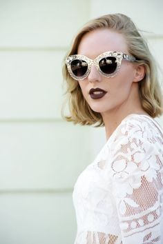 eb267985aa Lust for Luster  WOMEN S OVERSIZE ORNATE LASER CUT METAL LACE CAT EYE  SUNGLASSES 9771