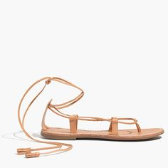 Madewell - The Sightseer Lace-Up Sandal
