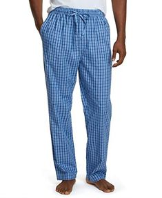 Nautica Men's Soft Woven 100% Cotton Elastic Waistband Sleep Pajama Pant Nautica Mens Sleepwear, The Ordinary, Pajama Pants, Pajamas, Cotton, Blog, Gifts, Fashion, Pjs