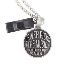 Supernatural Driver Picks Music Necklace,