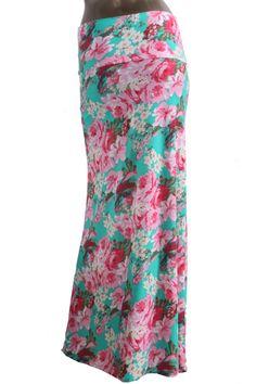 Spring Blooms Maxi Skirt - Mya Addisyn, LLC I Boutique Clothing & Accessories  - www.MyaAddisyn.com