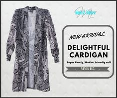 NEW ARRIVAL =============== DELIGHTFUL CARDIGAN Super Comfy, Wudhu' friendly cuff  ~ Available size M & L ~ Easy to Wear ~ Ironless  Order via whatsapp - www.wasap.my/60143370263  or website:  https://modestculture.com/products/delightful-cardiganpattern   #newarrival #modestculture #wudhufriendly