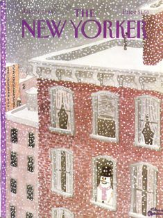 New Yorker cover Charles Addams 1/21 1985