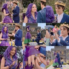 Will you marry me Descendants Mal And Ben, Dove Cameron Descendants, Descendants Characters, Disney Channel Descendants, Descendants Cast, Cameron Boyce, Disney Jokes, Disney Films, High School Musical