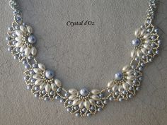 Les perles Crystal d'Oz: Pearl Filigree