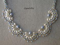 Les perles Crystal d'Oz: Collier