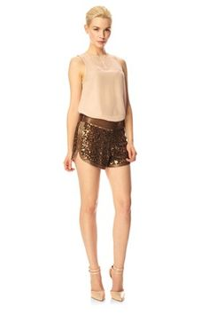 Ella Sequins Shorts - Sale - French Connection