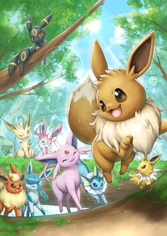 Pokémon Files - Burn Book - Eevee is a kind of Pokémon on Nintendo and in the Pokémon franchise of Game Freak. Created by Ken - Pokemon Legal, Gif Pokemon, Pokemon Fan Art, Pokemon Fusion, Pokemon Cards, Pokemon Tattoo, Pokemon Comics, Pokemon Funny, Kawaii Anime