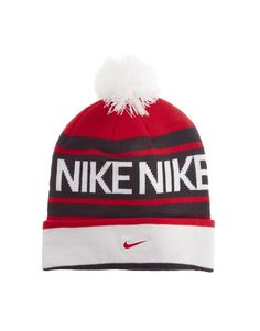 9254439f40f Nike Beanie Hat with Bobble. Hunter · Hats