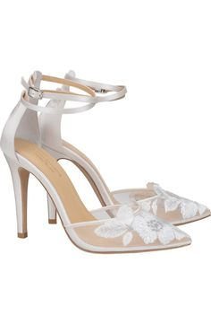 Silver Outfits, Women's Pumps, Heels, Hot Shoes, Embroidered Flowers, Wedding Shoes, Ankle Strap, Nordstrom, Fashion Outfits