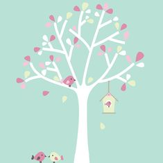 Image result for tree wall sticker white