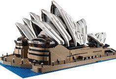 2,989個のLEGOで組む、洗練されたオペラハウスが発売 « WIRED.jp