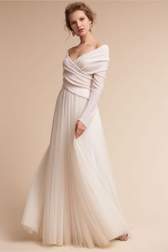 6a05bd43b4d3 BHLDN Ivory Ethereal Sweater in Shoes   Accessories