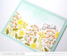 PTI Gathered Garden card by Nichole Heady