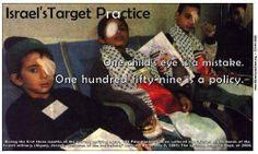 Disparar en el ojo a un niño, puede ser un error, hacerlo a varios.. son prácticas de buena punteria